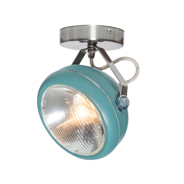 No.7 plafondlamp Het Lichtlab aqua