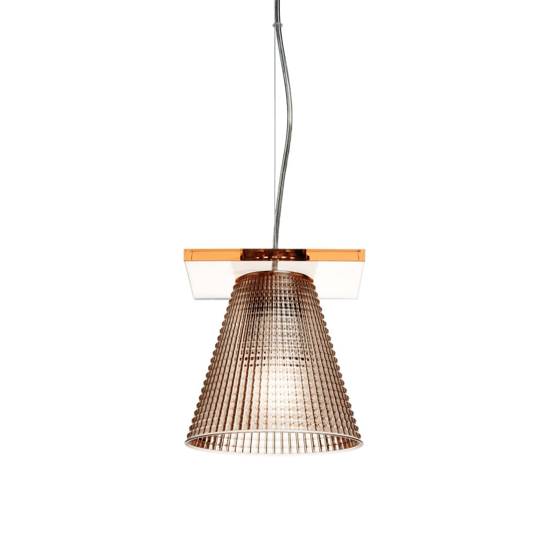 Light Air hanglamp Kartell amber
