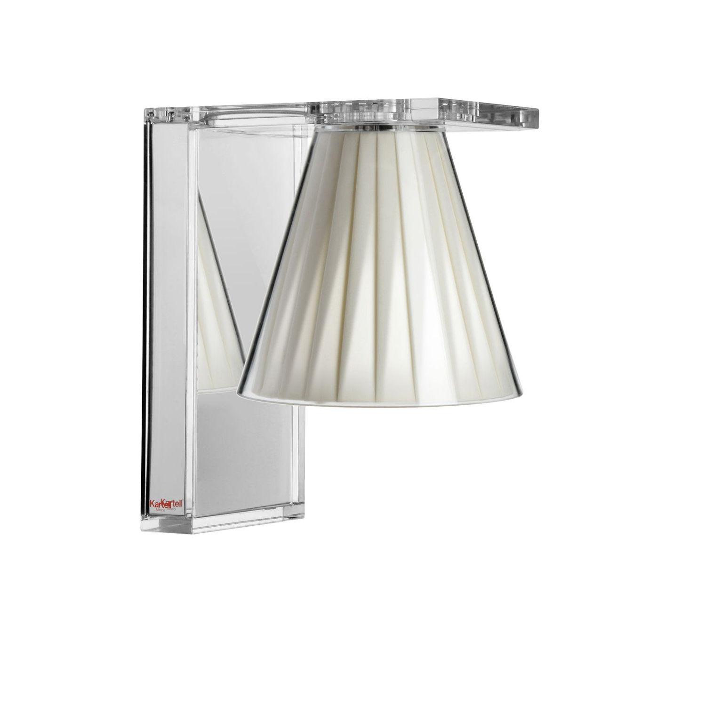 Light Air wandlamp Kartell plissé