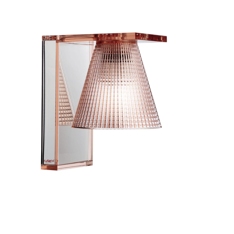 Light Air wandlamp Kartell roze