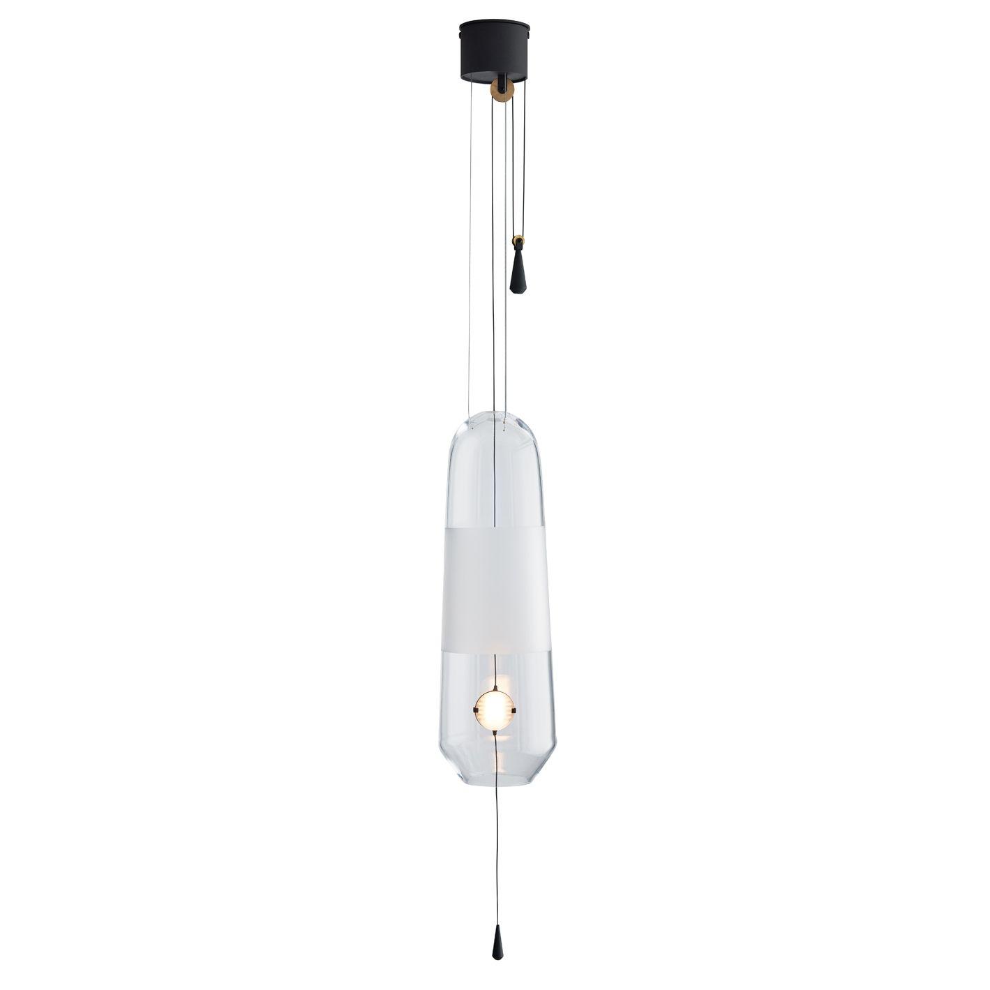 Limpid hanglamp L Hollands Licht transparant verstelbaar