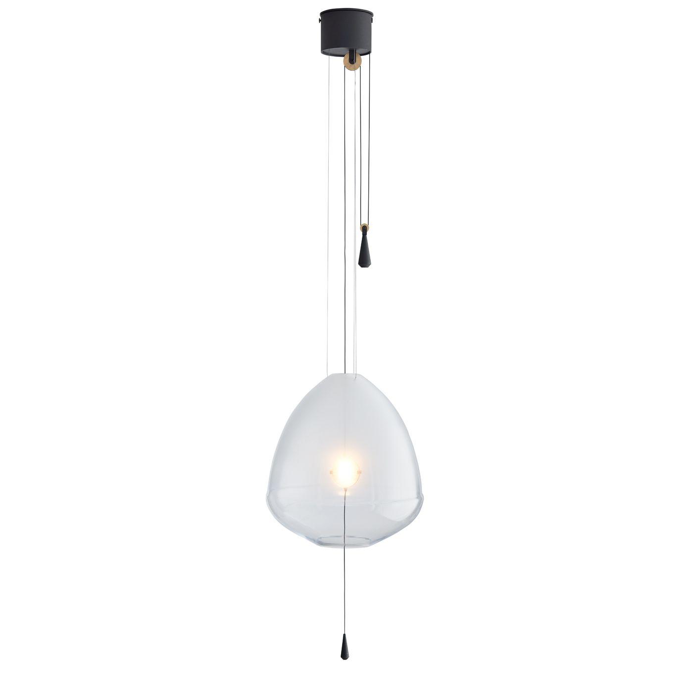 Limpid hanglamp M Hollands Licht transparant verstelbaar