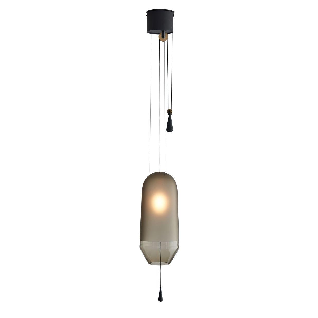Limpid hanglamp S Hollands Licht gerookt verstelbaar