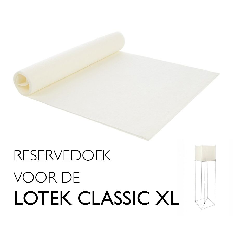 Lotek XL reservedoek Hollands Licht