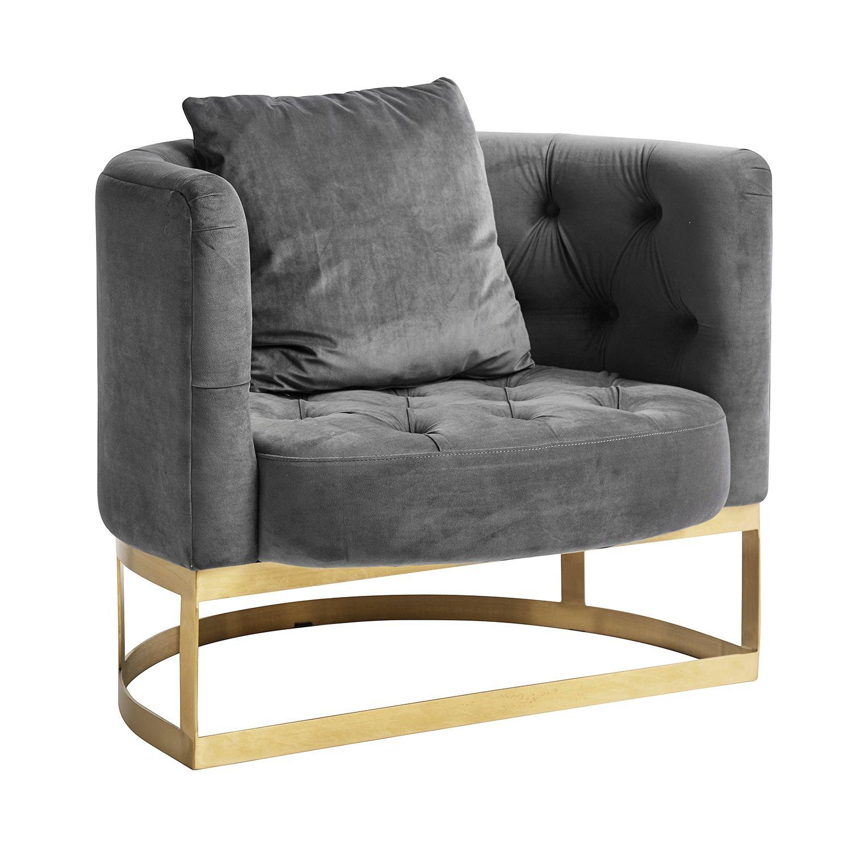 Lounge fauteuil Nordal grijs
