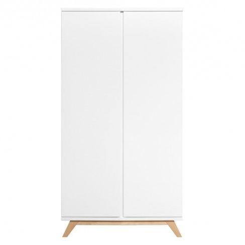 Lynn kledingkast Bopita 2-deurs XL greeploos
