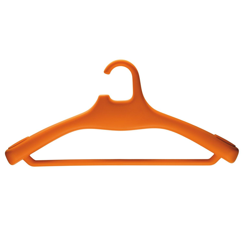 Hercules kledinghanger Magis met broeklat set 4 stuks oranje