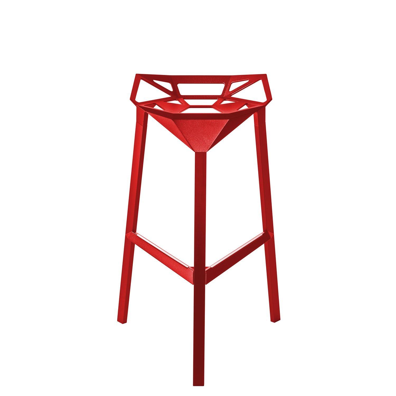 Stool_One barkruk Magis 67cm rood