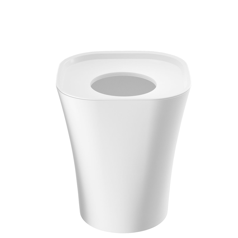 Trash prullenbak Magis klein wit 6L