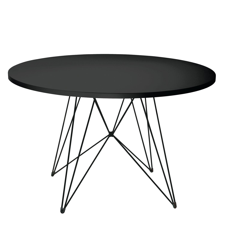 XZ3 eettafel Magis Ø120 zwart - zwart