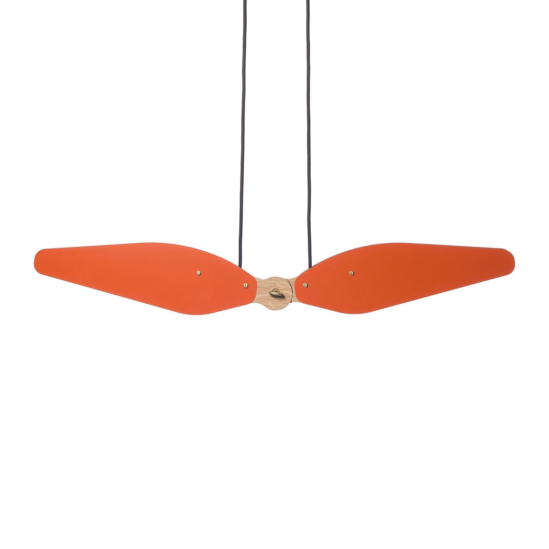Manu hanglamp Hollands Licht oranjerood
