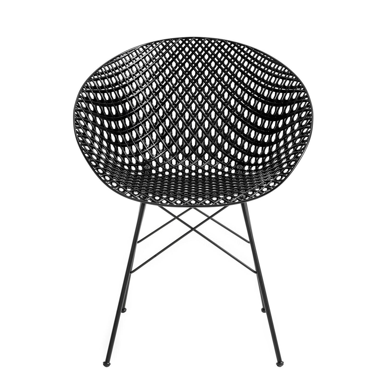 OUTLET - Smatrik stoel Kartell outdoor zwart