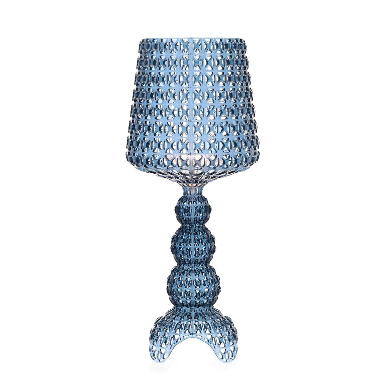 Mini Kabuki tafellamp Kartell azuurblauw