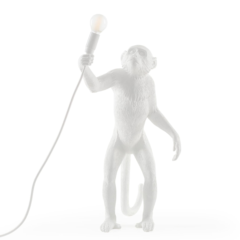 Monkey Outdoor vloerlamp Seletti wit