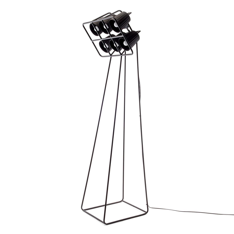 Multilamp vloerlamp Seletti zwart