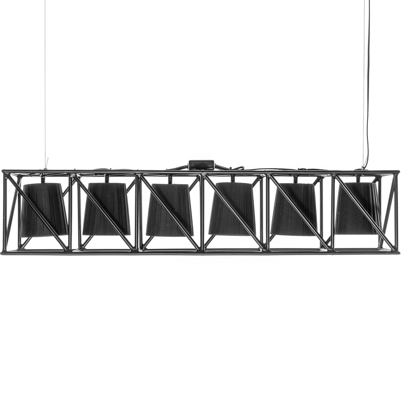 Multilamp hanglamp Seletti zwart