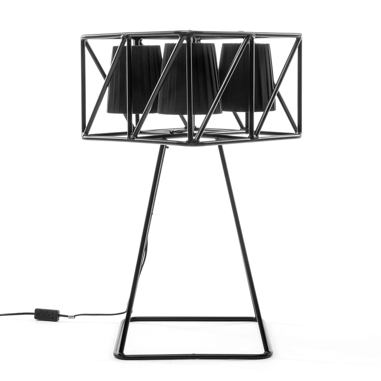 Multilamp tafellamp Seletti zwart