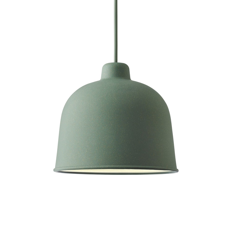 Grain hanglamp Muuto LED - dusty green