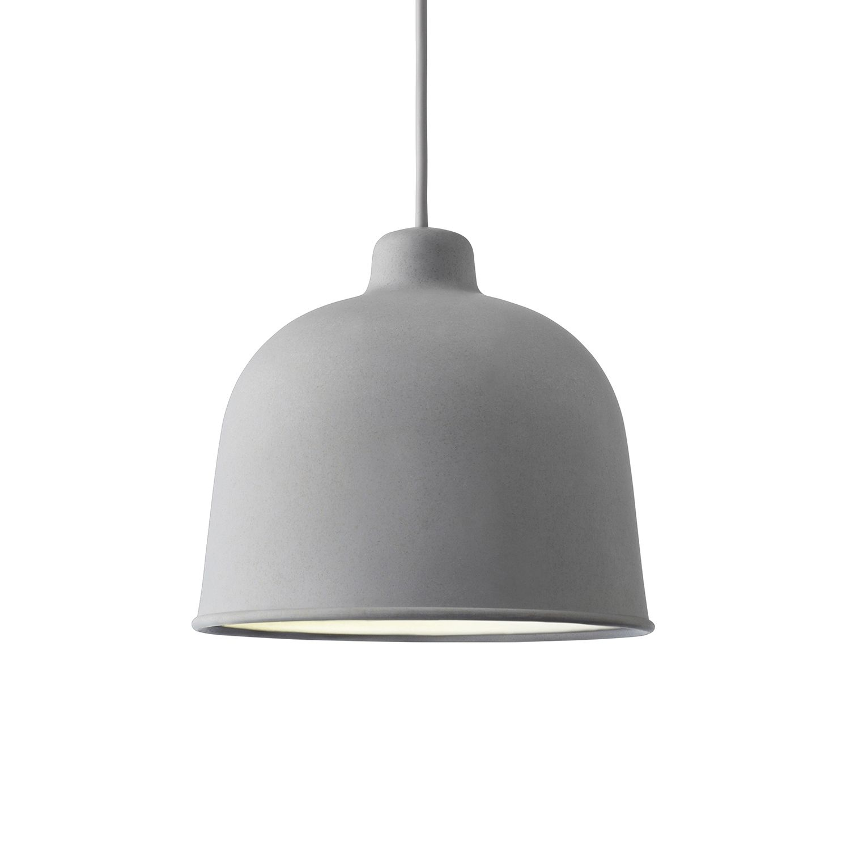 Grain hanglamp Muuto LED - grijs