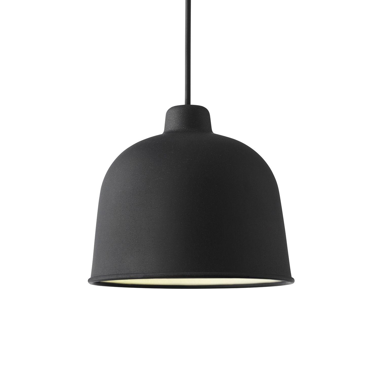 Grain hanglamp Muuto LED - zwart