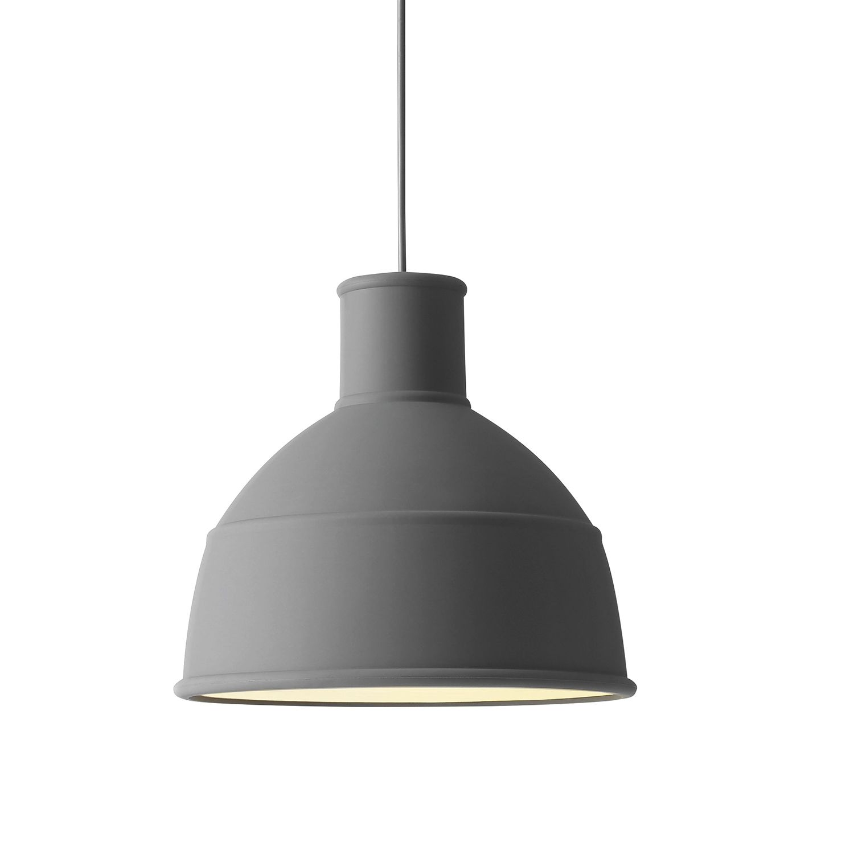 Unfold hanglamp Muuto donkergrijs