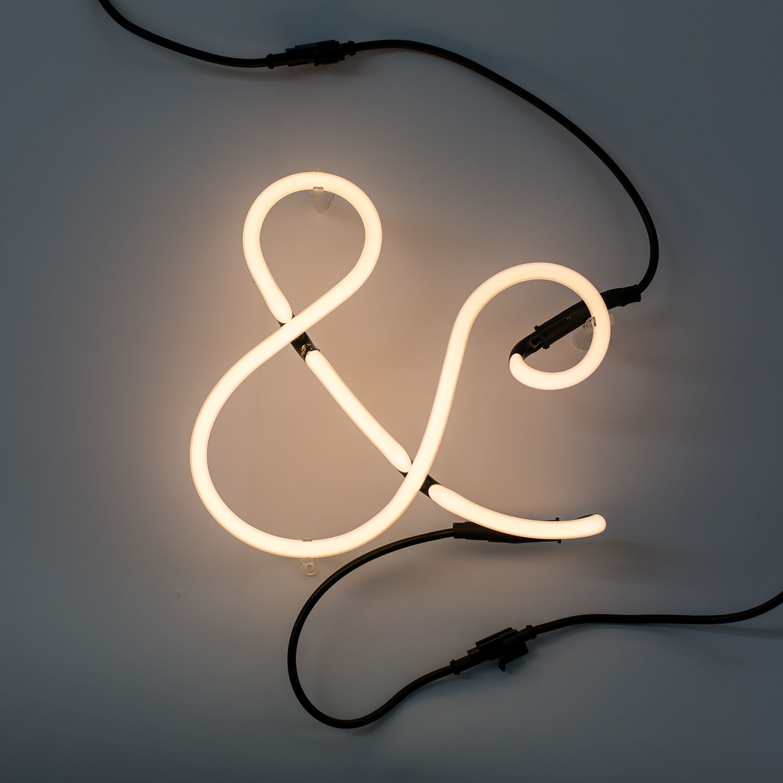 Neon Art letter Seletti &