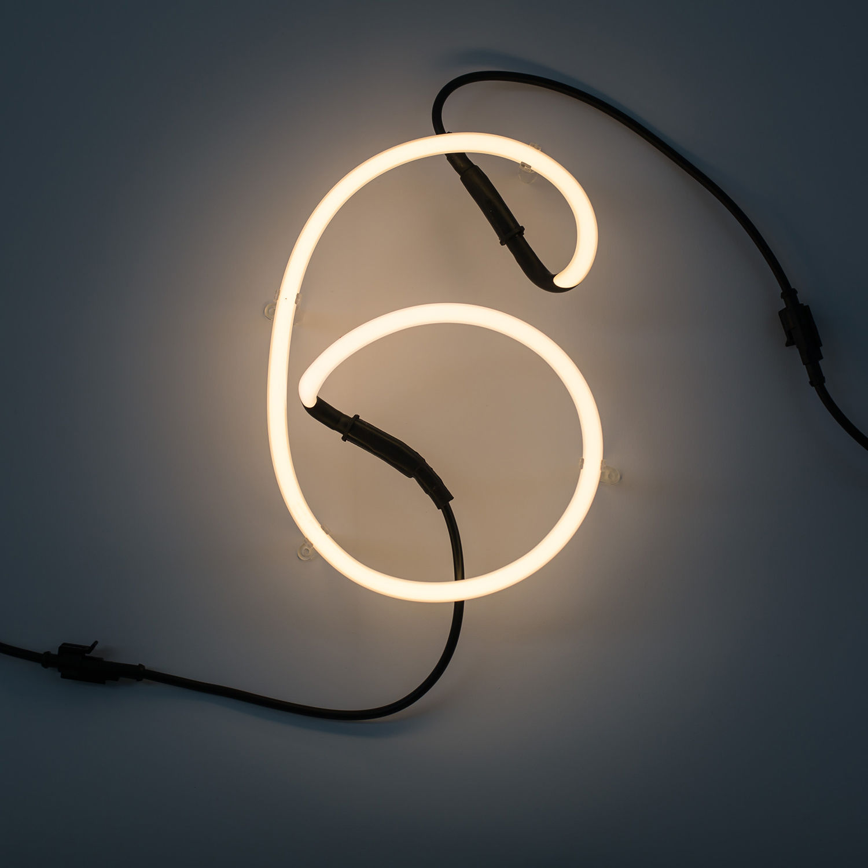 Neon Art cijfer Seletti 6