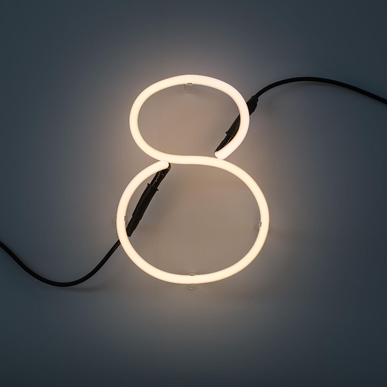 Neon Art cijfer Seletti 8