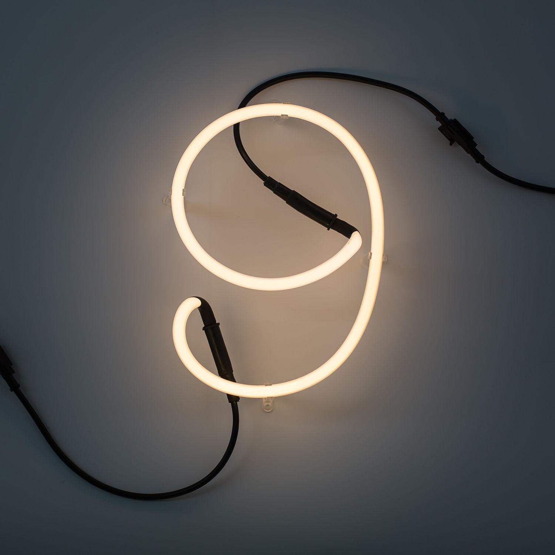 Neon Art cijfer Seletti 9