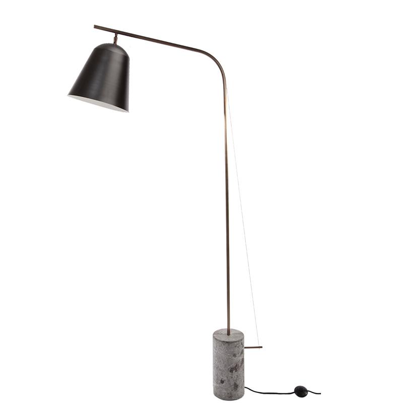 Line One vloerlamp Norr11 zwart