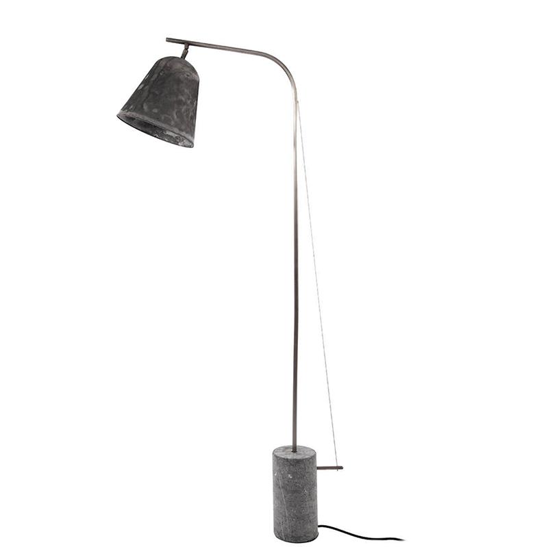 Line One vloerlamp Norr11 geoxideerd