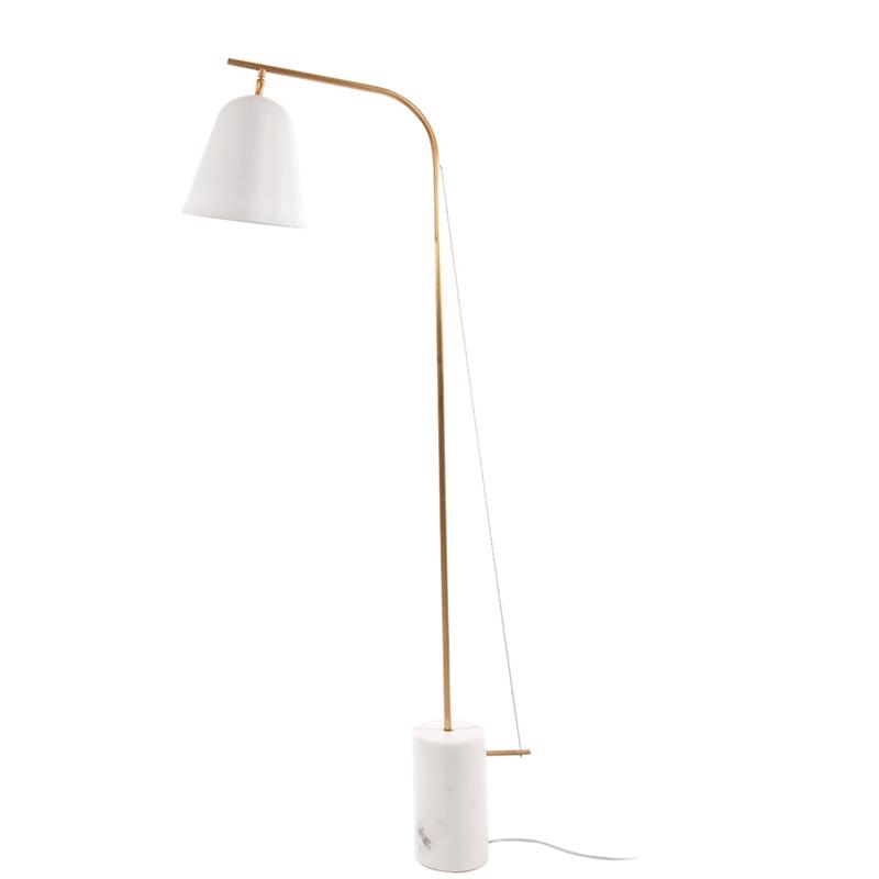 Line One vloerlamp Norr11 wit