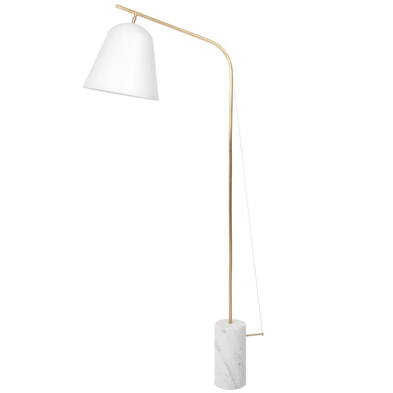 Line Two vloerlamp Norr11 wit