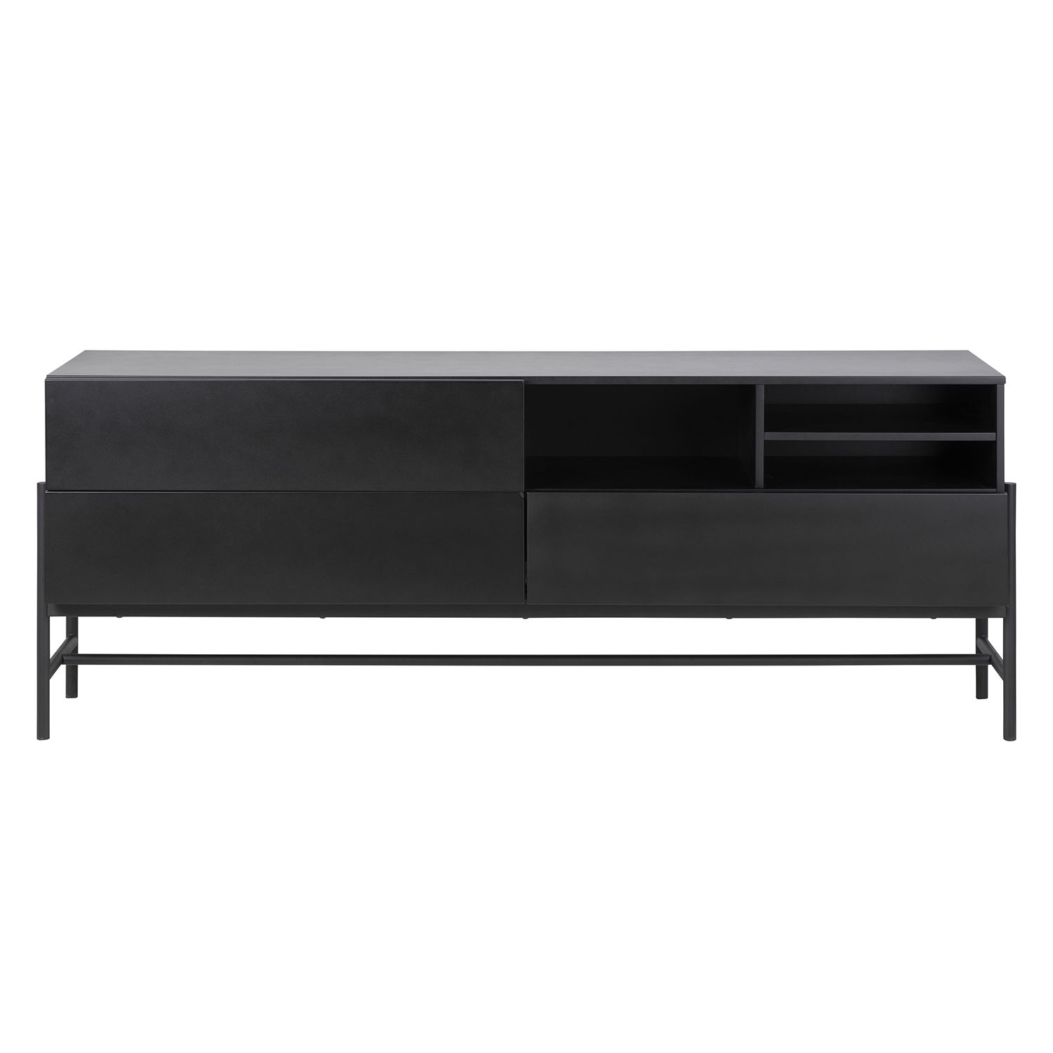 Norse dressoir Interstil zwart