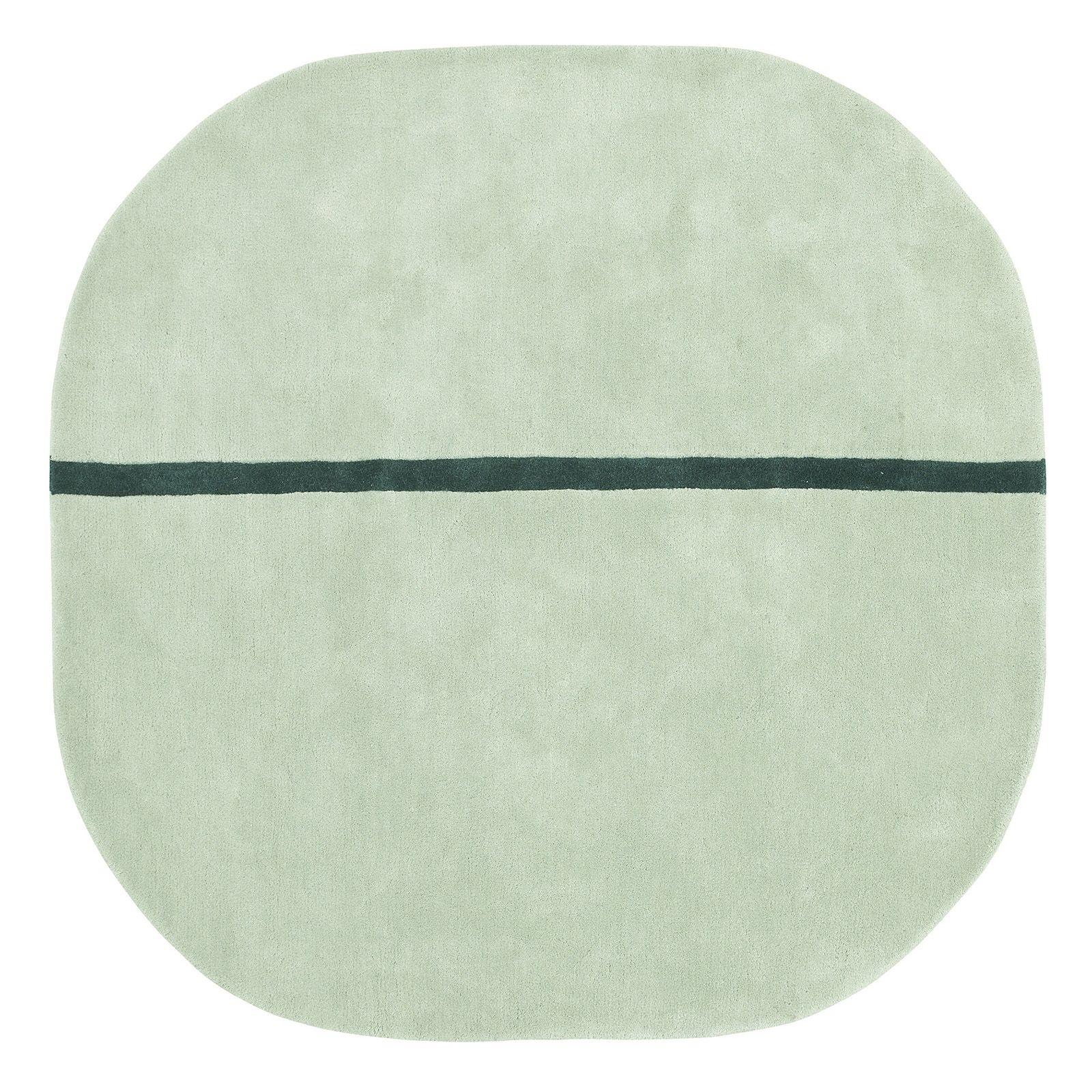 Oona vloerkleed Normann Copenhagen 140x140cm mint