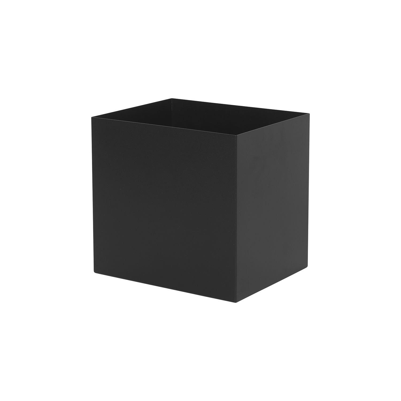 Plant Box pot Ferm Living zwart
