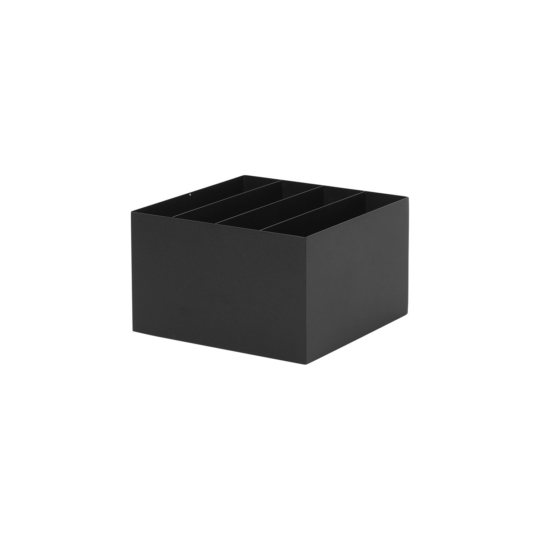 Plant Box divider Ferm Living zwart