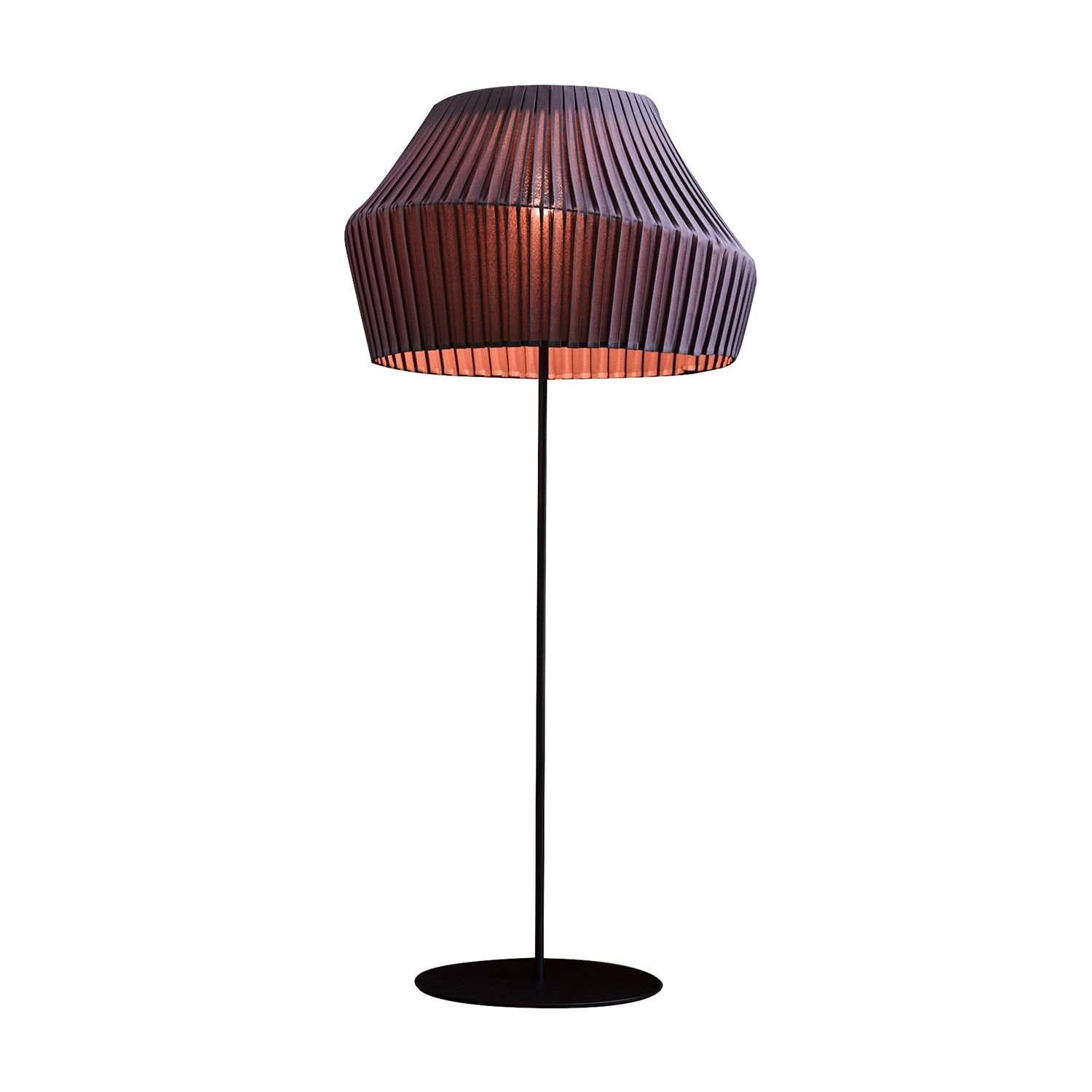 Pleat vloerlamp Hollands Licht