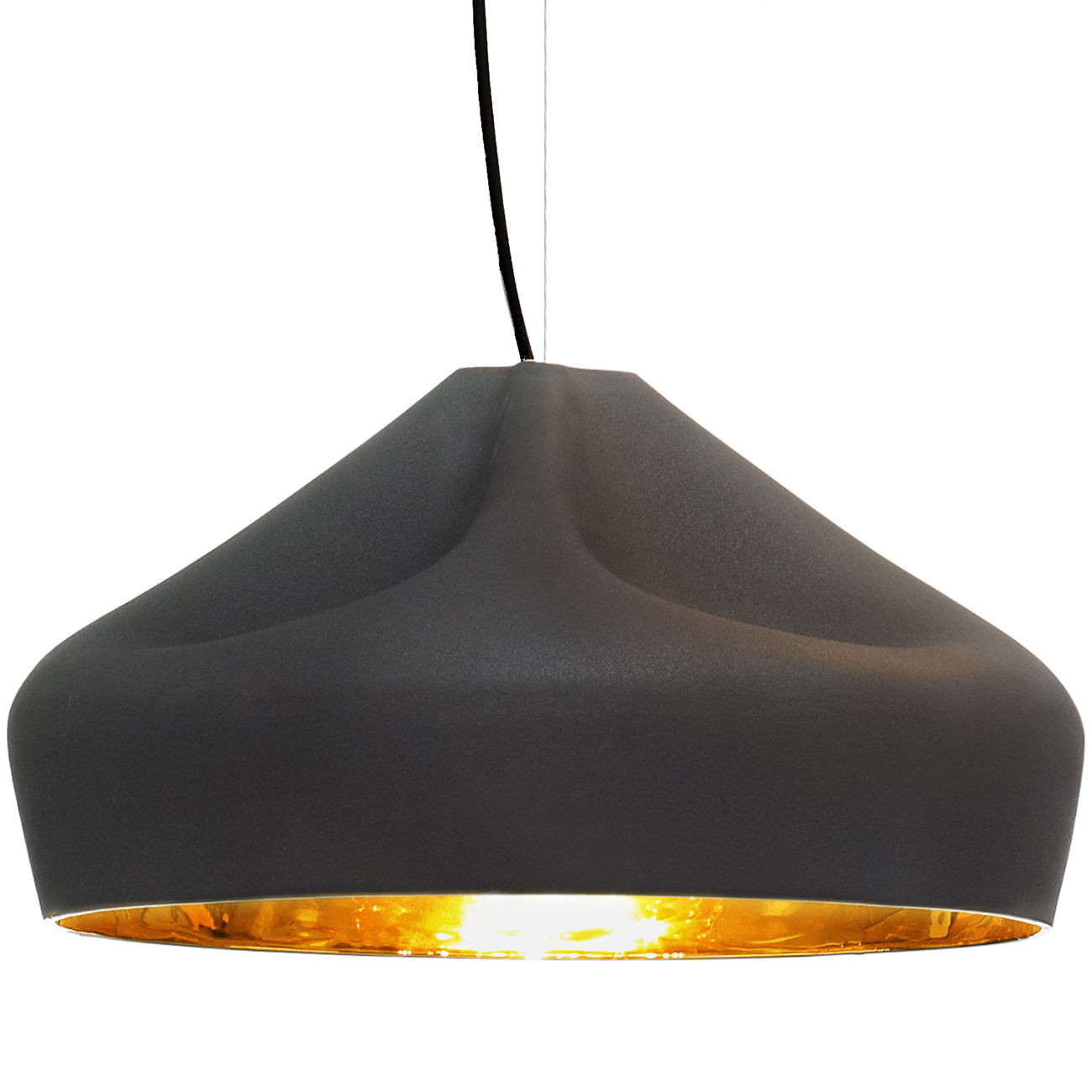 Pleat Box 47 hanglamp Marset zwart