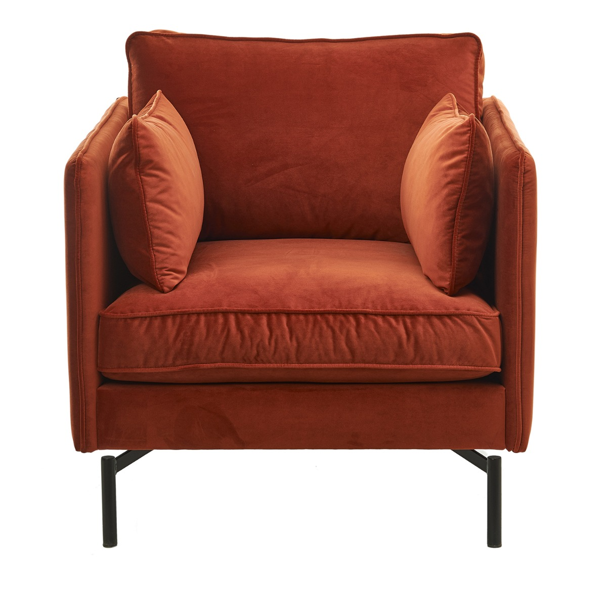 PPno.2 fauteuil Pols Potten roest rood