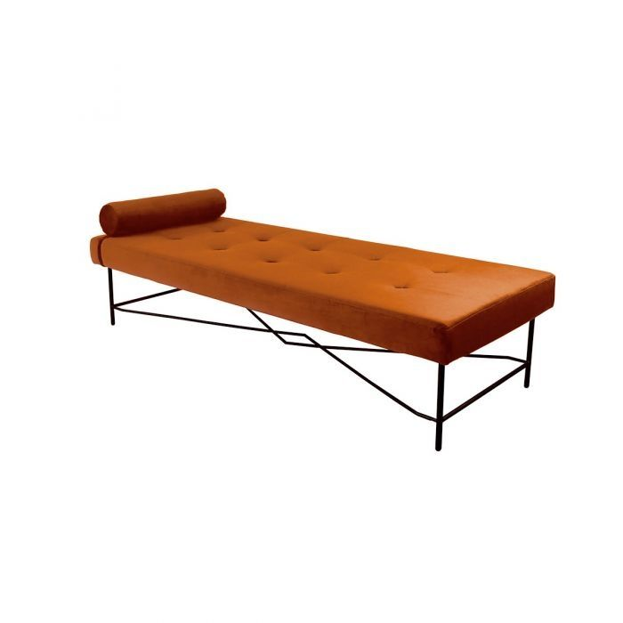 Puck daybed Kick Collection oranje