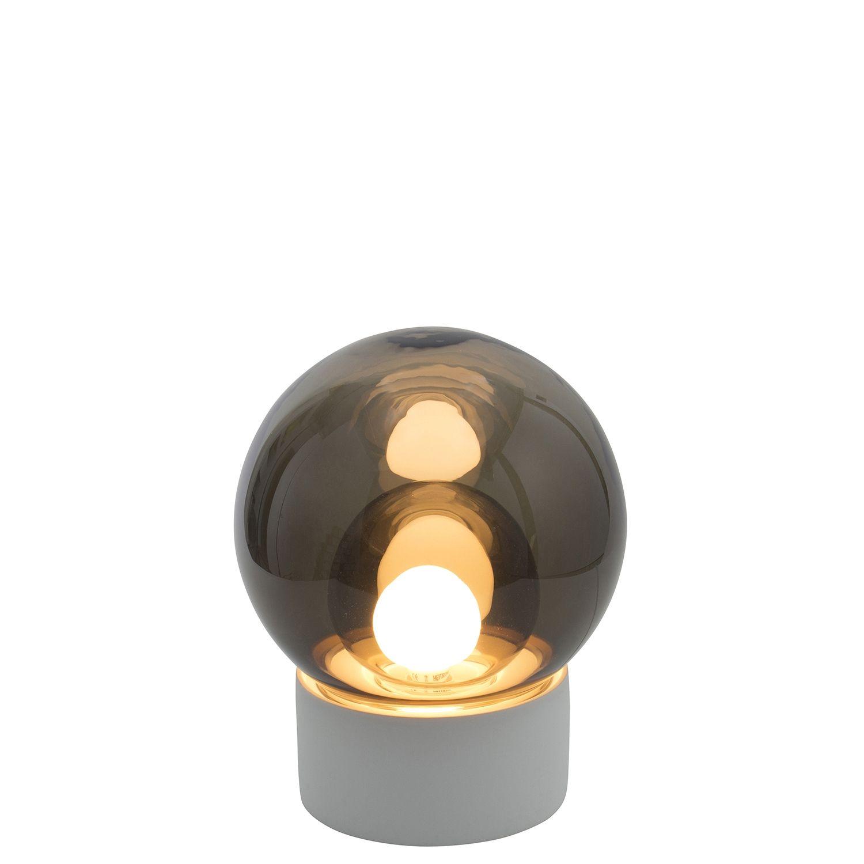 Boule tafellamp Pulpo 33,5 grijs/grijs wit