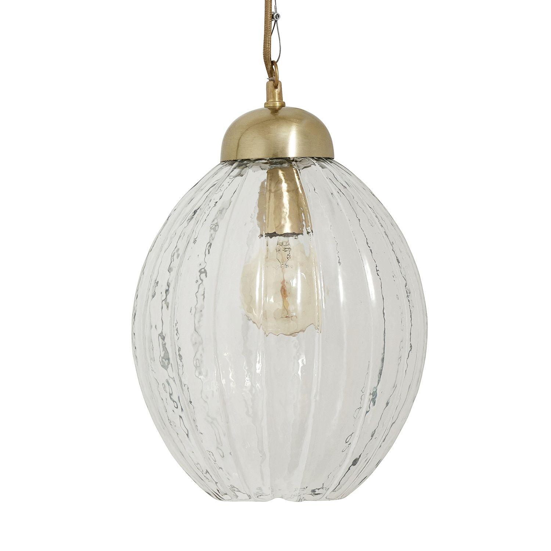 Pumpkin hanglamp Nordal transparant