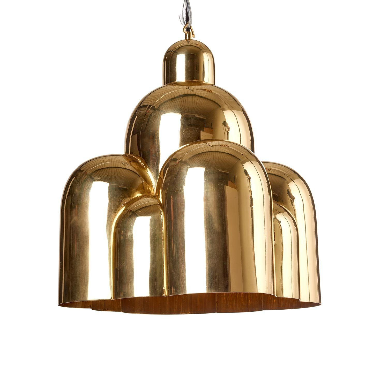 Roman Dome hanglamp Pols Potten messing