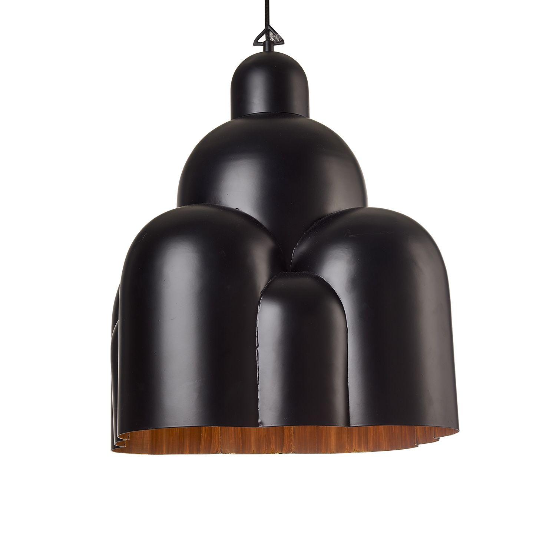 Roman Dome hanglamp Pols Potten zwart