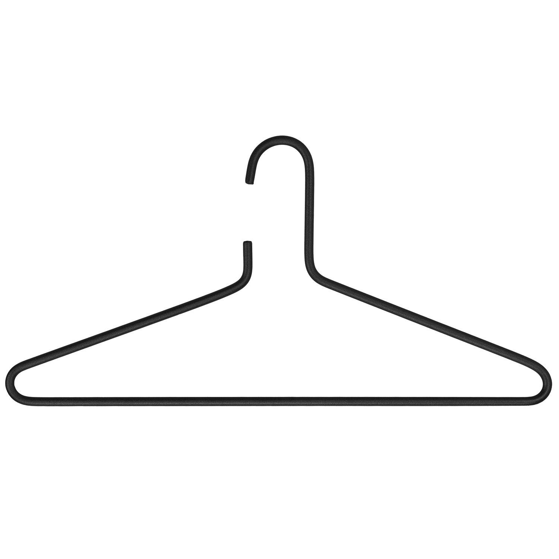 Senza kledinghangers Spinder Design 3 stuks - zwart