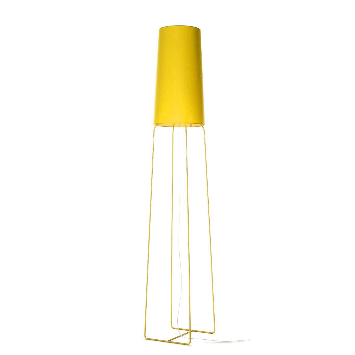 SlimSophie vloerlamp FrauMaier geel