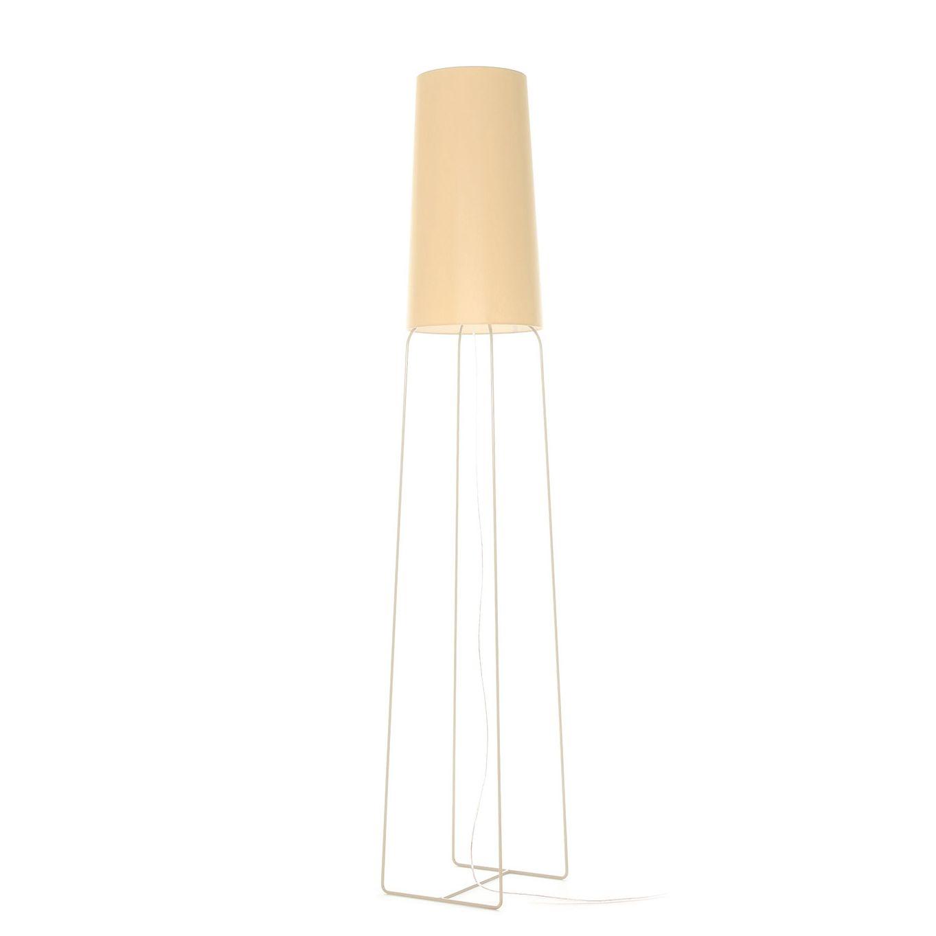 SlimSophie vloerlamp FrauMaier lichtbruin