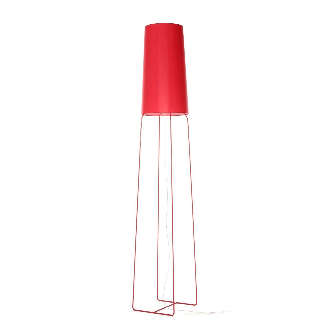 SlimSophie vloerlamp FrauMaier rood