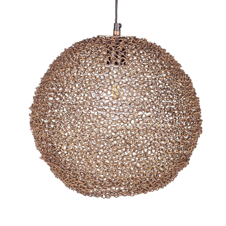 Spinner hanglamp Bodilson goud